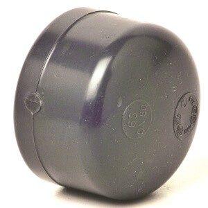 Заглушка ПВХ с внутренней резьбой  G 1″