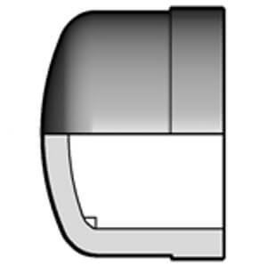 Заглушка ПВХ d140 мм