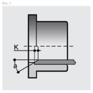 Монтаж межфланцевого обратного клапана ПВХ