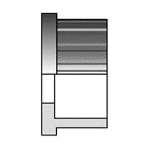 Окончание из PP-H (полипропилена) 50 мм