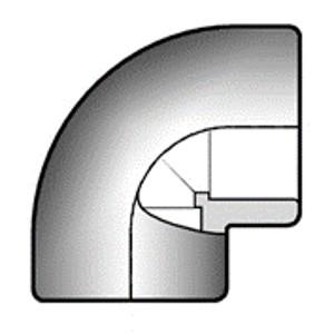 Отвод ПВХ d20 мм 90 градусов
