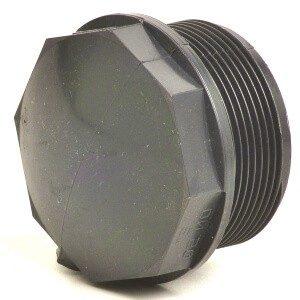 Заглушка ПВХ с наружной резьбой  G 1 1/2″