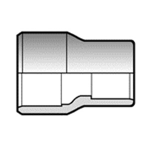 Переходная втулка ПВХ 110/90x75