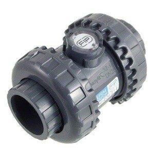 Пружинный обратный клапан ПВХ d 20, DN15