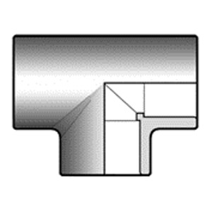 Тройник ПВХ d110 мм
