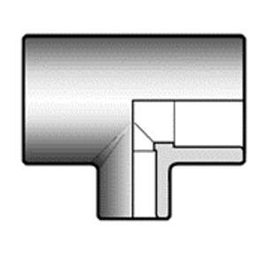 Тройник ПВХ d50x25 переходной