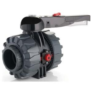 Кран PVC d 75 мм FPM