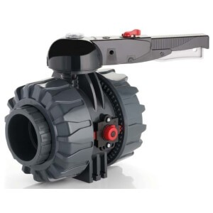 Кран ПВХ промышленный d 75 мм EPDM