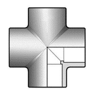 Крестовина ПВХ d90 мм