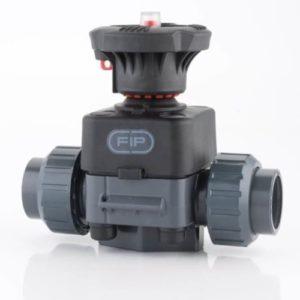 Мембранный клапан ПВХ 50 мм EPDM FIP Италия - 3