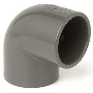 Отвод ПВХ d225 мм 90°