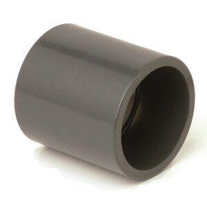 Муфта ПВХ соединительная d90 мм