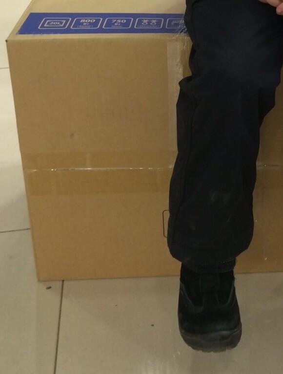 Коробки на складе напорных систем ПВХ