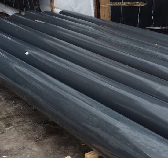 Замена трубы ПВХ d140 с толщины 6,7 на 5,4 мм