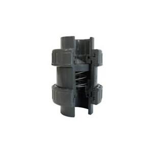Пружинный обратный клапан ПВХ 90 мм PN16 Plimat - 5